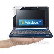 Установка Windows на нетбук фото