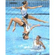 Индивидуальный пошив купальников для синхронного плавания фото