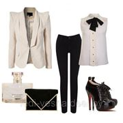 Пиджак и блузка фото