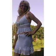 Летний кружевной костюм «Натали» фото