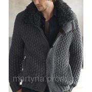 Вязаные мужские куртки фото