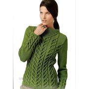Вязание свитеров фото