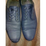 Покраска обуви из кожи. фото