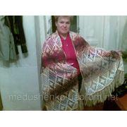 Вязание на заказ - Ажурный палантин фото