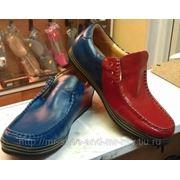 Покраска , перекраска цвета обуви фото