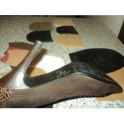 Обтяжка каблуков (кожа) фото