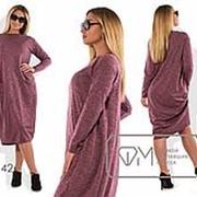 Платье женское сиреневое (2 цвета) PY/-074 фото