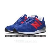 Кроссовки New Balance 576 The M576SBR Cobalt Blue Red арт. 23253 фото