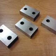 Ножи к станкам для рубки арматуры СМЖ и тд фото