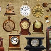 Антикварные часы фото