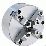 Патрон токарный Ф200 4-7100-0033 (4-200.33.01) 4-х кулачковый (БелТАПАЗ) фото