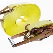 Стяжной ремень СРД для крепления груза 10,0т длинн фото