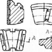Прочие узлы и детали турбин: Колодки упорные, сухари фото