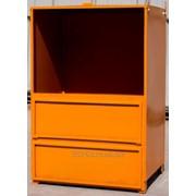 Контейнера для сбора, хранения и транспортировки опасных отходов фото