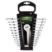 Набор ключей комбинированных на холдере 14 шт. 6-24мм TOPTUL GAAC1401 фото