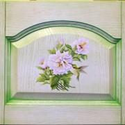 Ручная художественная роспись фасадов мебели фото