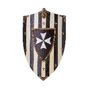 Щит геральдический рыцарей Госпитальеров фото