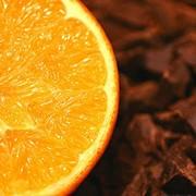 Термостабильная шоколадная начинка Апельсин. фото
