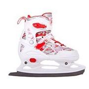 Детские раздвижные коньки RGX PW-700 White/Red фото