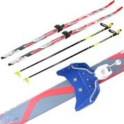 Лыжный комплект STC с креплением под 75мм, L- 110см, полупластик фото