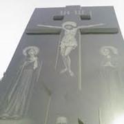 Памятники из габбро фото