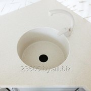 Кухонные мойки из искусственного камня фото