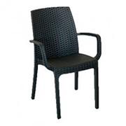 Кресло (стул с подлокотниками) Indiana венге (57x59x86см) фото