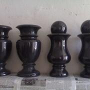 Гранитные вазы на заказ Киев, доставка по Украине фото