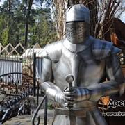№231 Рыцарь металический фото