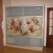 Художественные стекло фасады фото