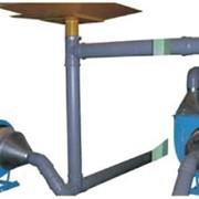 Пневмотранспортёр дробленного полистирола (пенопласта) и сыпучих отходов фото