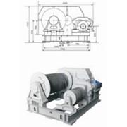 Лебедка электрическая специальная маневровая ЛЭМ-10 фото