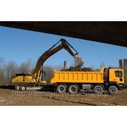 Примем грунт,бой кирпича и бетона,асфальт б/у и строймусор в Перми. фото