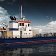 Морское многофункциональное судно-сборщик нефтесодержащих, сточных вод и мусора пр. ZT42BWS фото