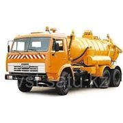 Илососная машина КО-507АМ на шасси КамАЗ-65115-1071-62
