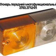 Фонарь передний многофункциональный 3703.3712-01, с секциями габаритного огня, указателя поворота, без провода массы фото