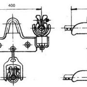 Зажим поддерживающий глухой ЗПГН-5-7 фото