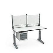 Стол монтажный СР-150-02 ESD + Экран ВС-150-Э1 ESD фото