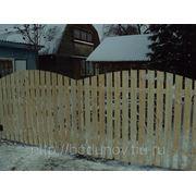 Забор на даче 1,5х2,0 фото