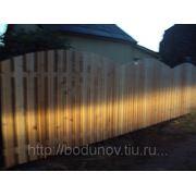 Забор для дома фото