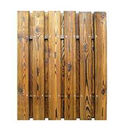Установка деревянных заборов фото