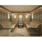 Строительство турецкой бани (хамама) под ключ фото