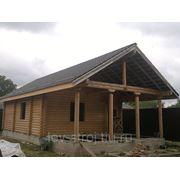 Изготовление деревянных домов фото
