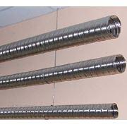 Демонтаж стальных труб проложенных на скобах диаметром до: 40 мм фото