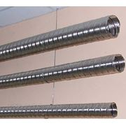 Демонтаж стальных труб проложенных на скобах диаметром до: 80 мм фото