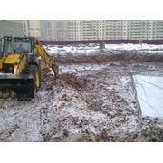 Подготовка строительного участка,Строительство фото