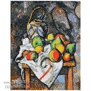 Набор для вышивания бисером Фрукты по мотивам картины Поля Сезанна фото