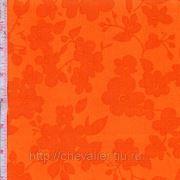 Оранжевая с цветами фото