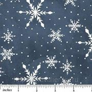 Снежинки на синем фоне фото