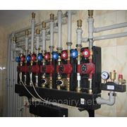 Отопление водоснабжение канализация коттеджа (дома) фото